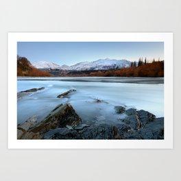 Coronet Peak - Queenstown - New Zealand Art Print