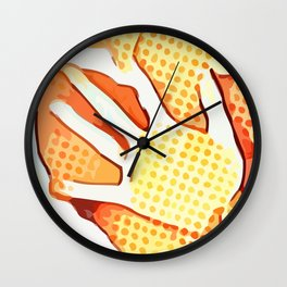 Trapped ~ Left hand Wall Clock