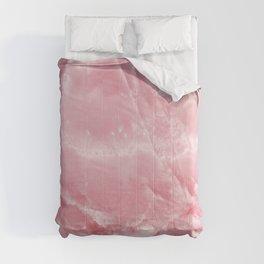 Pink Onyx Marble Comforters
