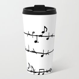 Barbed Wire Stave Travel Mug