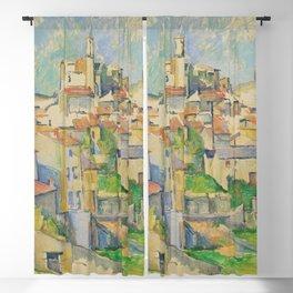 Paul Cezanne Gardanne 1886 Blackout Curtain