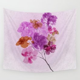 A Floral Sprig Wall Tapestry