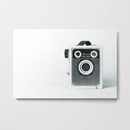 Box Camera Retro - Photographer Metal Print