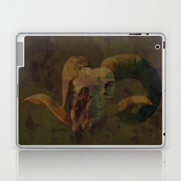 Ram Skull Laptop & iPad Skin