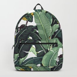 banana leaf pattern Backpack