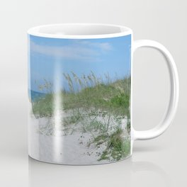 Ocracoke Island Beach Outer Banks Coffee Mug