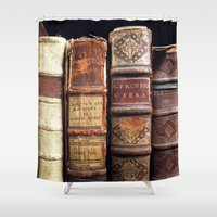 library Shower Curtains featuring Library by Mad Marys