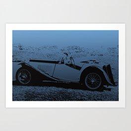 Classic Vintage Car Art Print