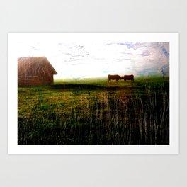 Cows of Bavaria II Art Print