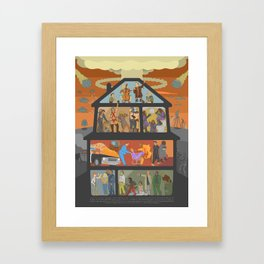 Party Like It's 19XX Framed Art Print