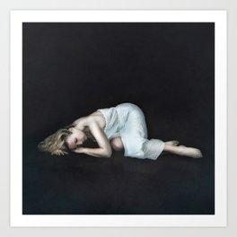 Captured sense Art Print