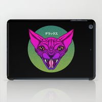 sphynx iPad Cases featuring SPHYNX by SHIN DE☆LUXE