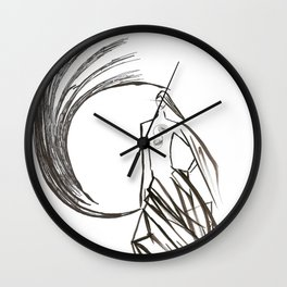 Angel under cover (home photo) Wall Clock