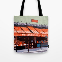 Shopping in Paris Tote Bag