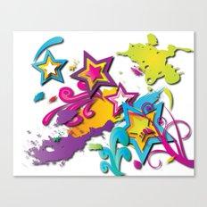 Crazy World Canvas Print