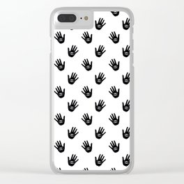 Seeing eye. Clear iPhone Case