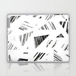 vintage triangle / black Laptop & iPad Skin
