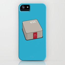 Escape Key iPhone Case