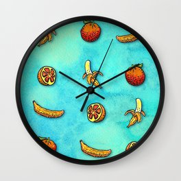 Orange Ya Glad I Didn't Say Banana? Wall Clock