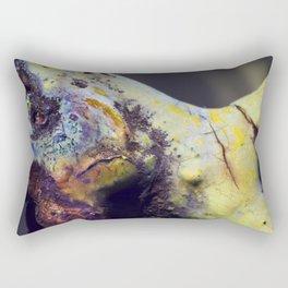 Angry tortoise Rectangular Pillow
