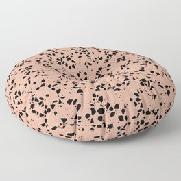 Modern Terrazzo Collage 03 Floor Pillow