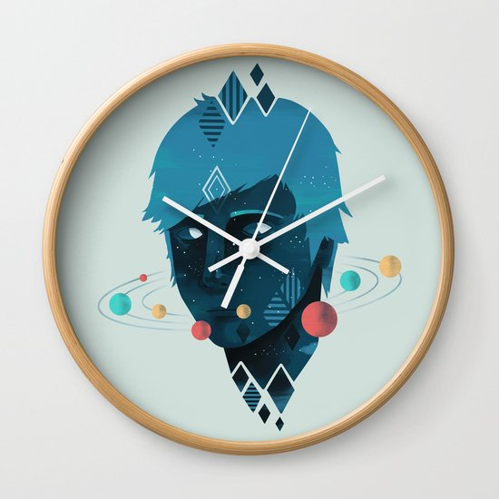 Mind/Space Wall Clock