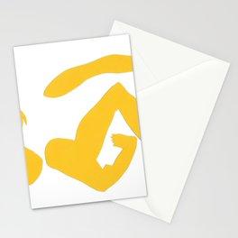 femme fractale Stationery Cards