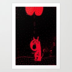 PLOP.  (MY MASTERPIECE). Art Print