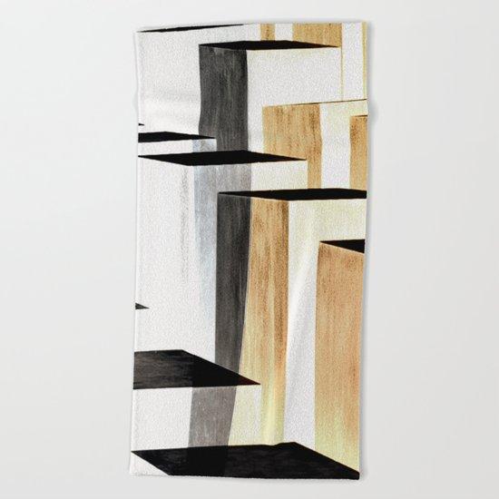 abstract#349 Beach Towel
