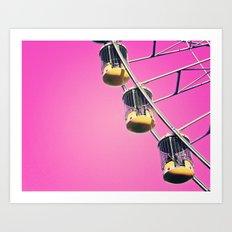 Fair Pink Sky Art Print