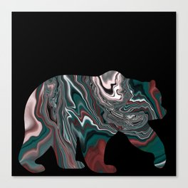 Bear stroll v2 Canvas Print