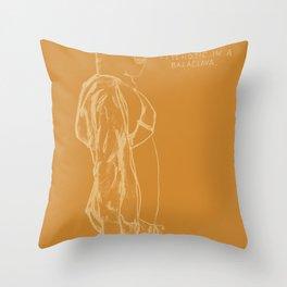 Spring Breakers/Vampire Weekend (Orange) Throw Pillow