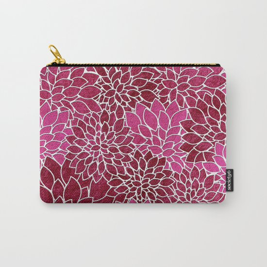 Floral Abstract 26 Carry-All Pouch