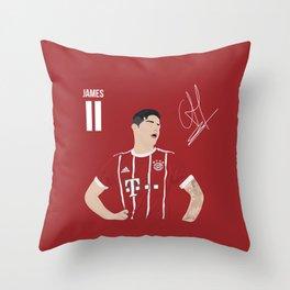 James Rodriguez - Bayern Munchen Throw Pillow