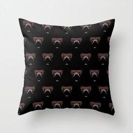 Kylo Ren gaze Throw Pillow