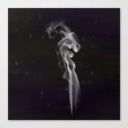 smoke dragon Canvas Print
