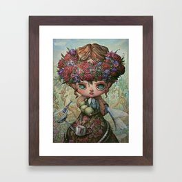The Garden Queen Framed Art Print