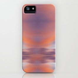 Maui Sunset Abstract iPhone Case
