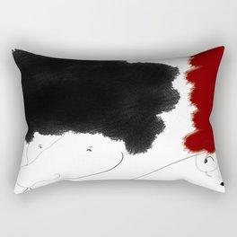 The Dispute Rectangular Pillow