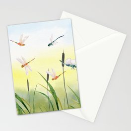 Dragonfly Party  Stationery Cards