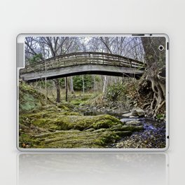 Over Under In Through Laptop & iPad Skin