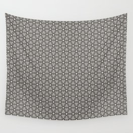 Decorative Triangles Pattern Wall Tapestry