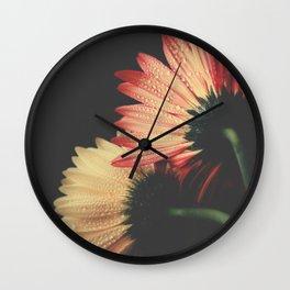 flowers III Wall Clock