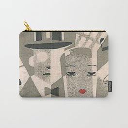 Art Deco Glamour Couple Carry-All Pouch