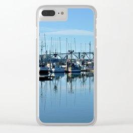 Yaquina Bay Newport, Oregon Clear iPhone Case