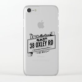 38  Oxley Road Clear iPhone Case