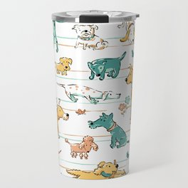 Dogs Dogs Dogs Travel Mug