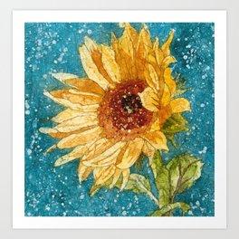 """""""Sunflower Daze"""" Art Print"""
