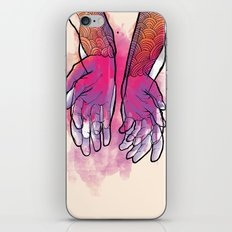 Dirty hands iPhone & iPod Skin
