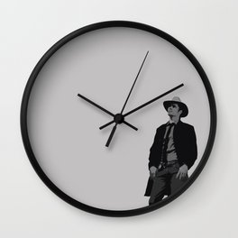 Raylan Givens 2 Wall Clock